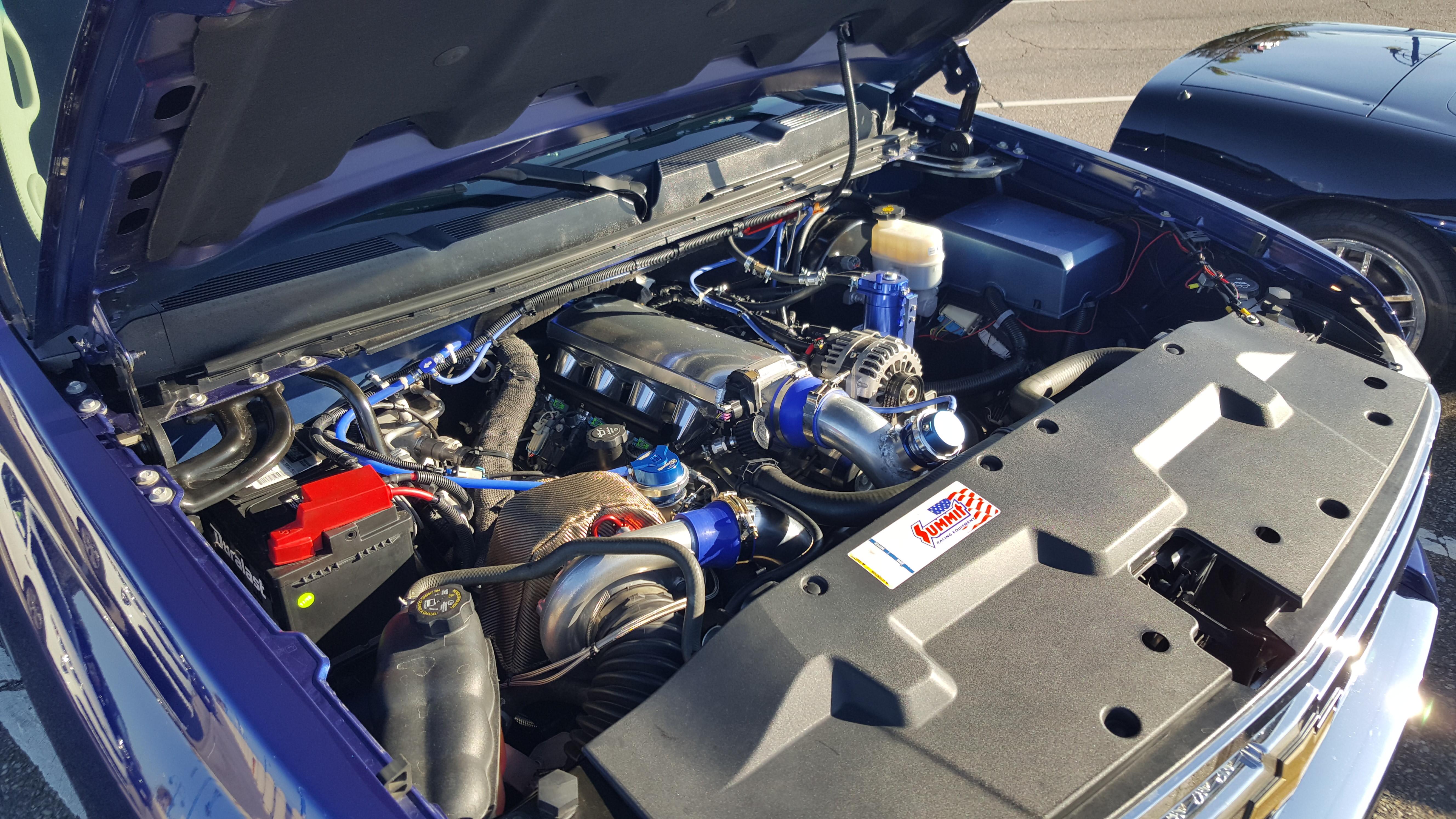 Turbo 5.3 2010 Silverado