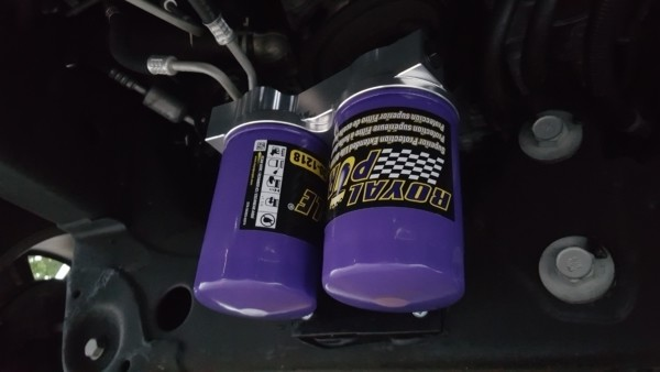 Twin Oil Filter 2