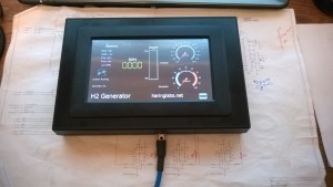 Color Touch Screen Control