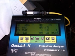 5 gas analyzer