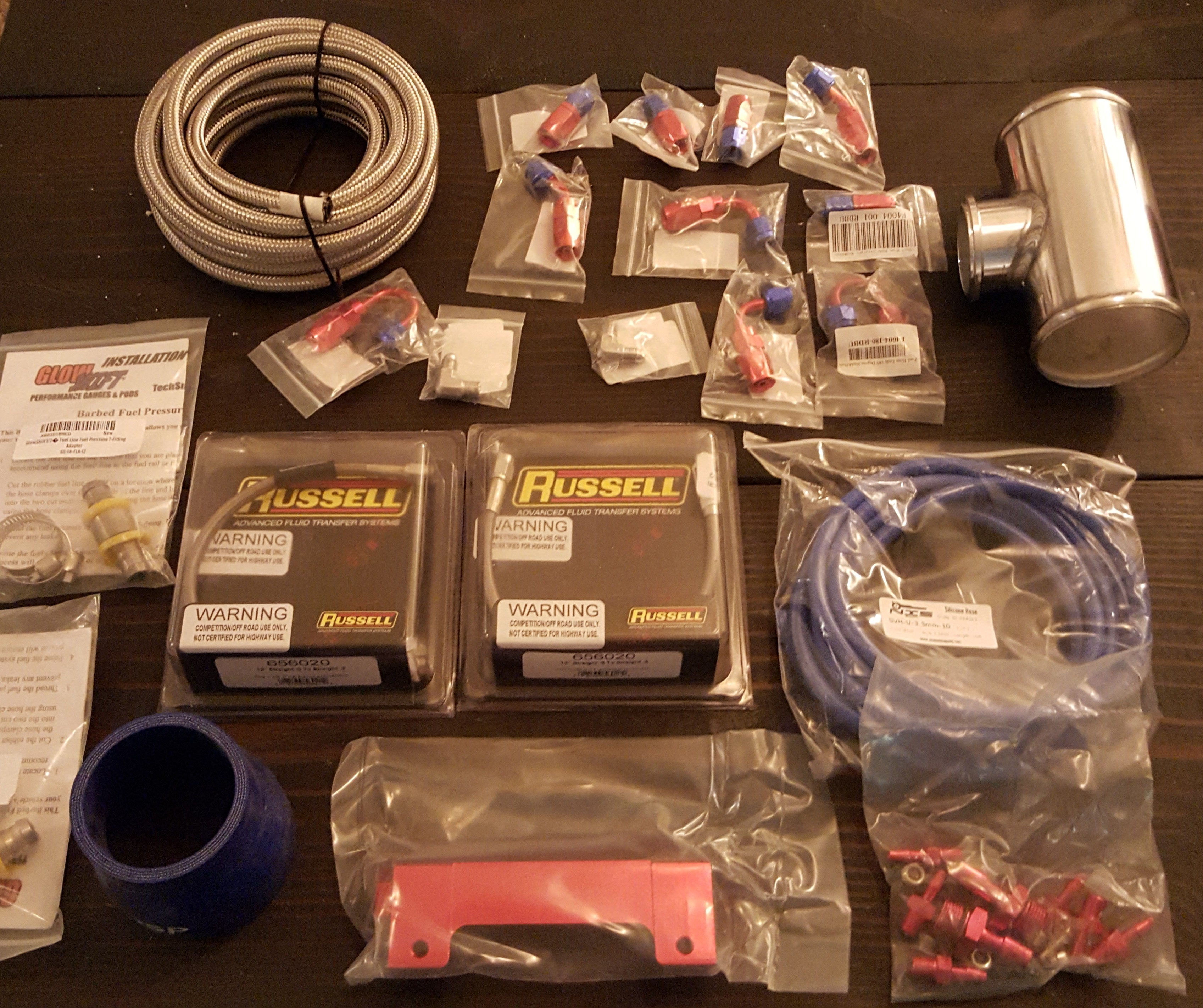 Supporting parts for the blue truck build